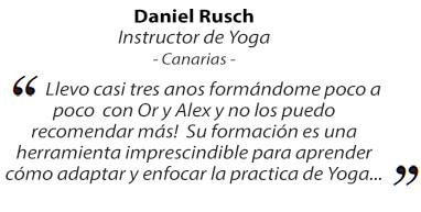 comentarios instructor de yoga